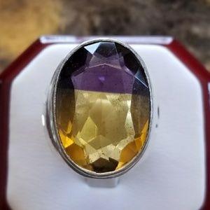 12ct Ametrine Ring Size 7.25
